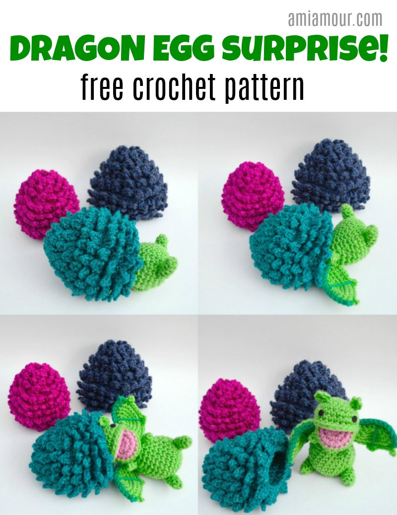 Dragon Egg - Free Crochet Pattern