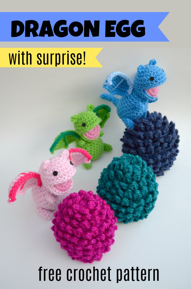 Amigurumi Dragon Free Crochet Pattern