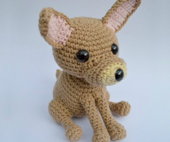 Chihuahua Amigurumi Dog - Free Crochet Pattern