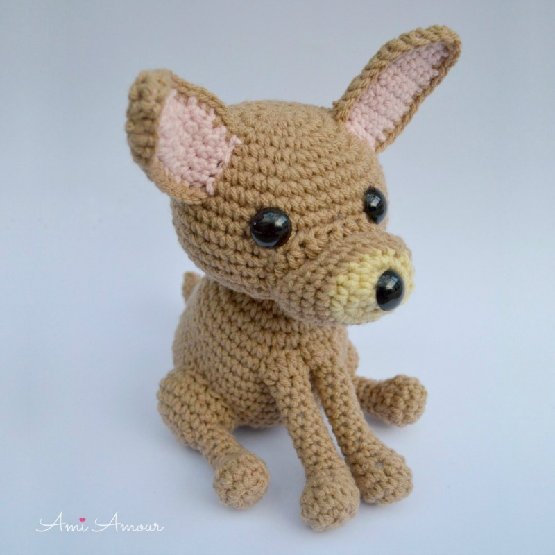 11 Amigurumi Dog Crochet Patterns – Cute Puppies - A More Crafty Life | 800x800