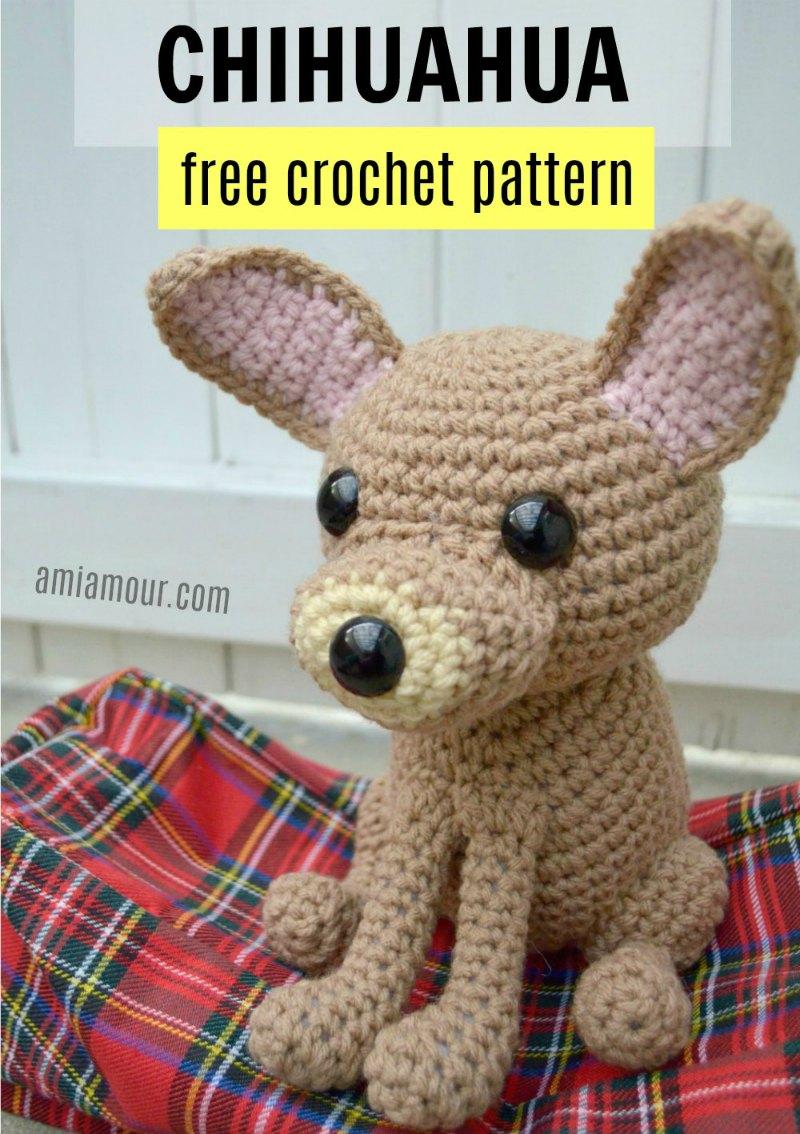 Chihuahua Amigurumi - Free Crochet Pattern