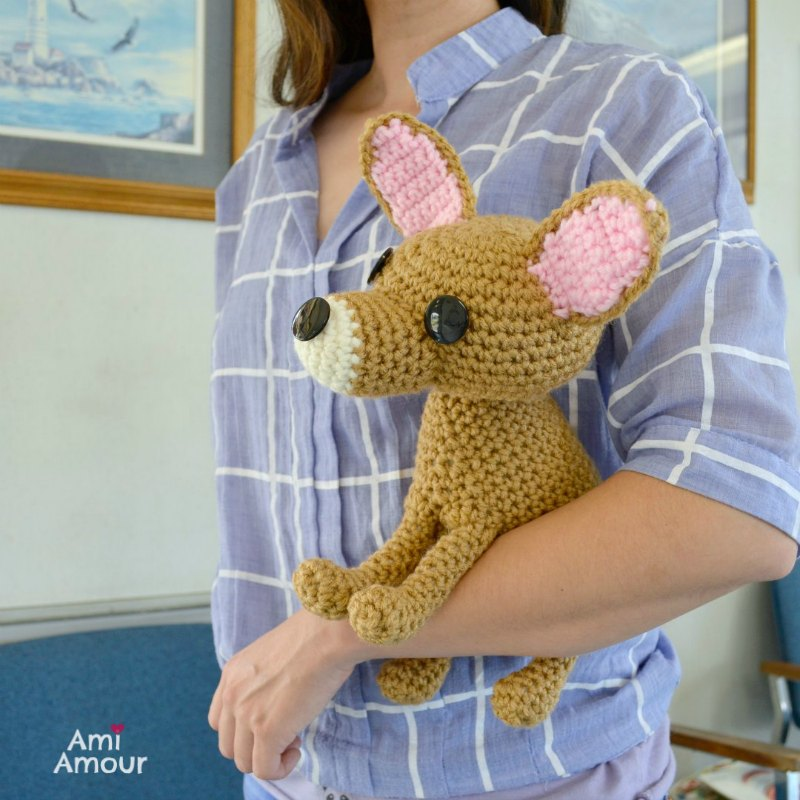 Chihuahua Crochet Pattern - Make and carry your Chihuahua everywhere!