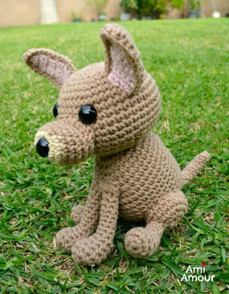 Crochet Chihuahua Dog