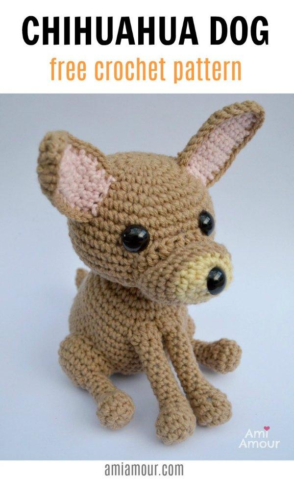 Chihuahua Free Crochet Pattern
