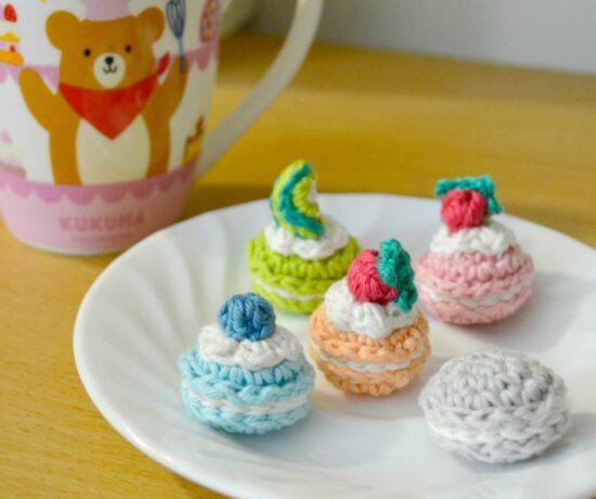 Crochet Macaron Amigurumi - Free Pattern