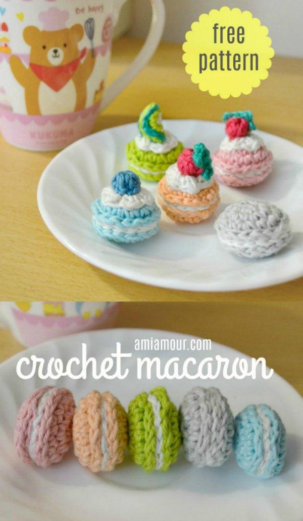 Crochet Macaron - Free Amigurumi Pattern