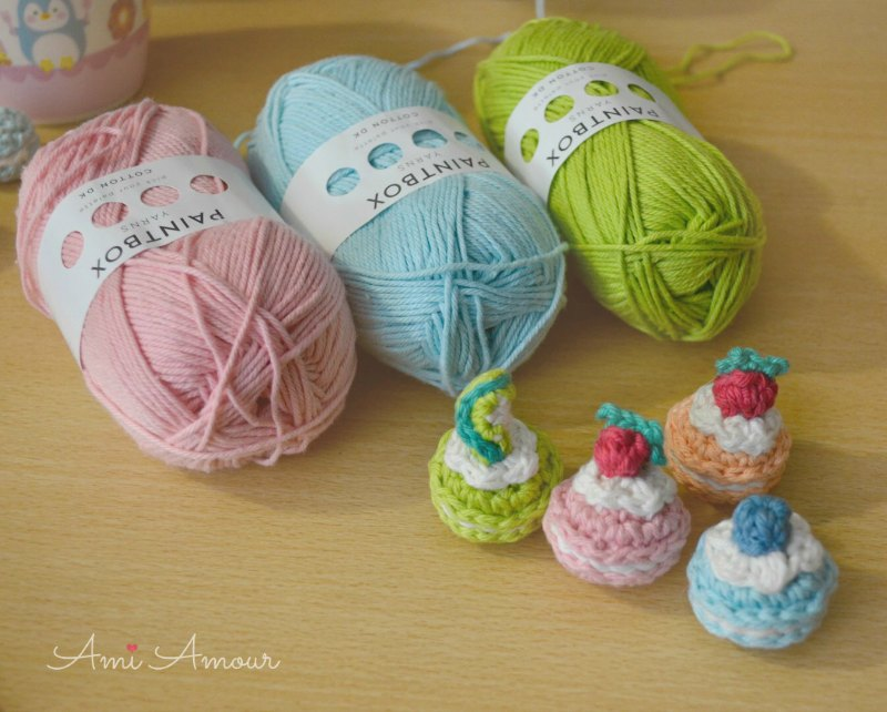 Paint Box Yarn Cotton DK for amigurumi