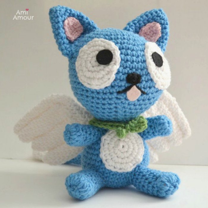 Happy Cat Amigurumi from Fairy Taile