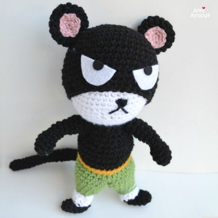 Onigiri Amigurumi free pattern | Crochet amigurumi free patterns ... | 700x700