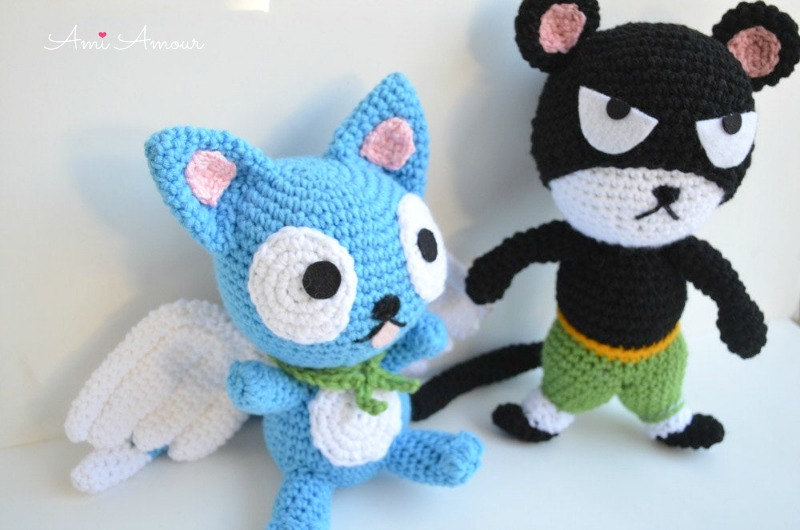 Pantherlily Anime Crochet Pattern Happy Fairytail