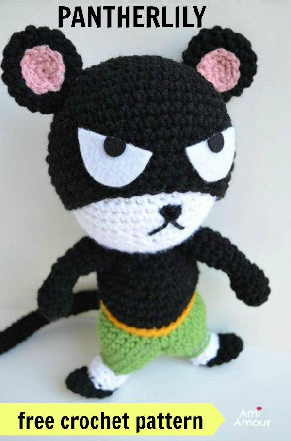 Pantherlily Free Crochet Pattern