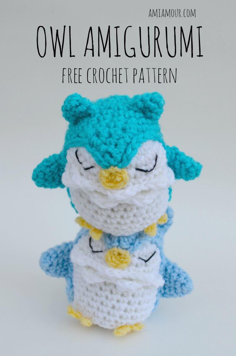 5 Little Monsters: Tiny Owl Amigurumi | 1208x800
