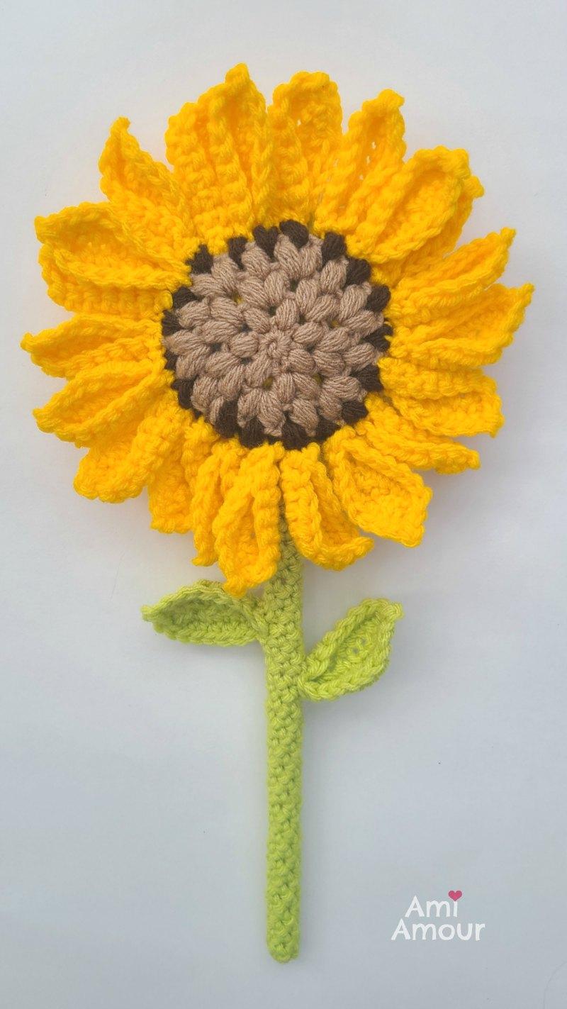 Crochet Sunflower - Free pattern