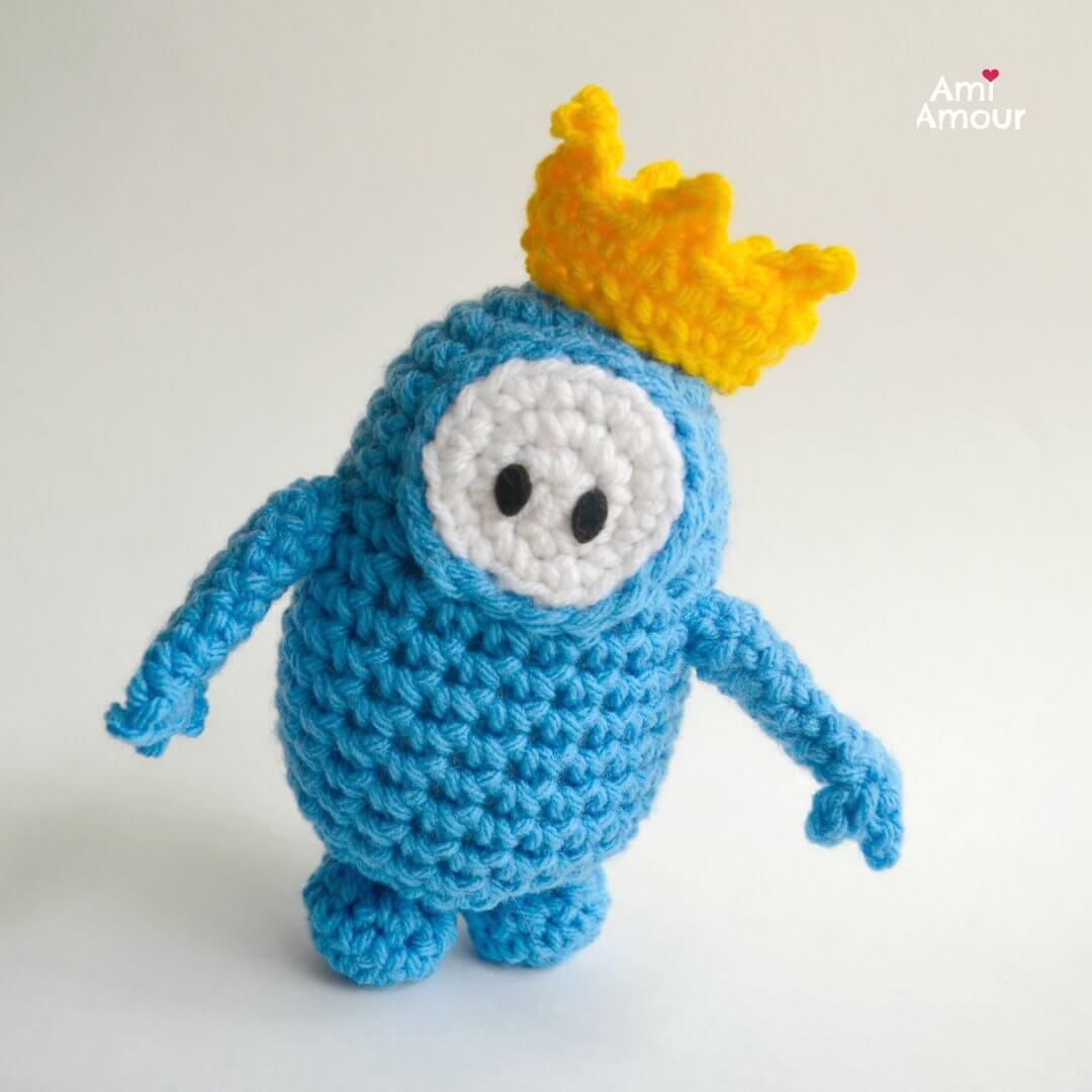 Fall Guys with Crown - Bonus Free Pattern