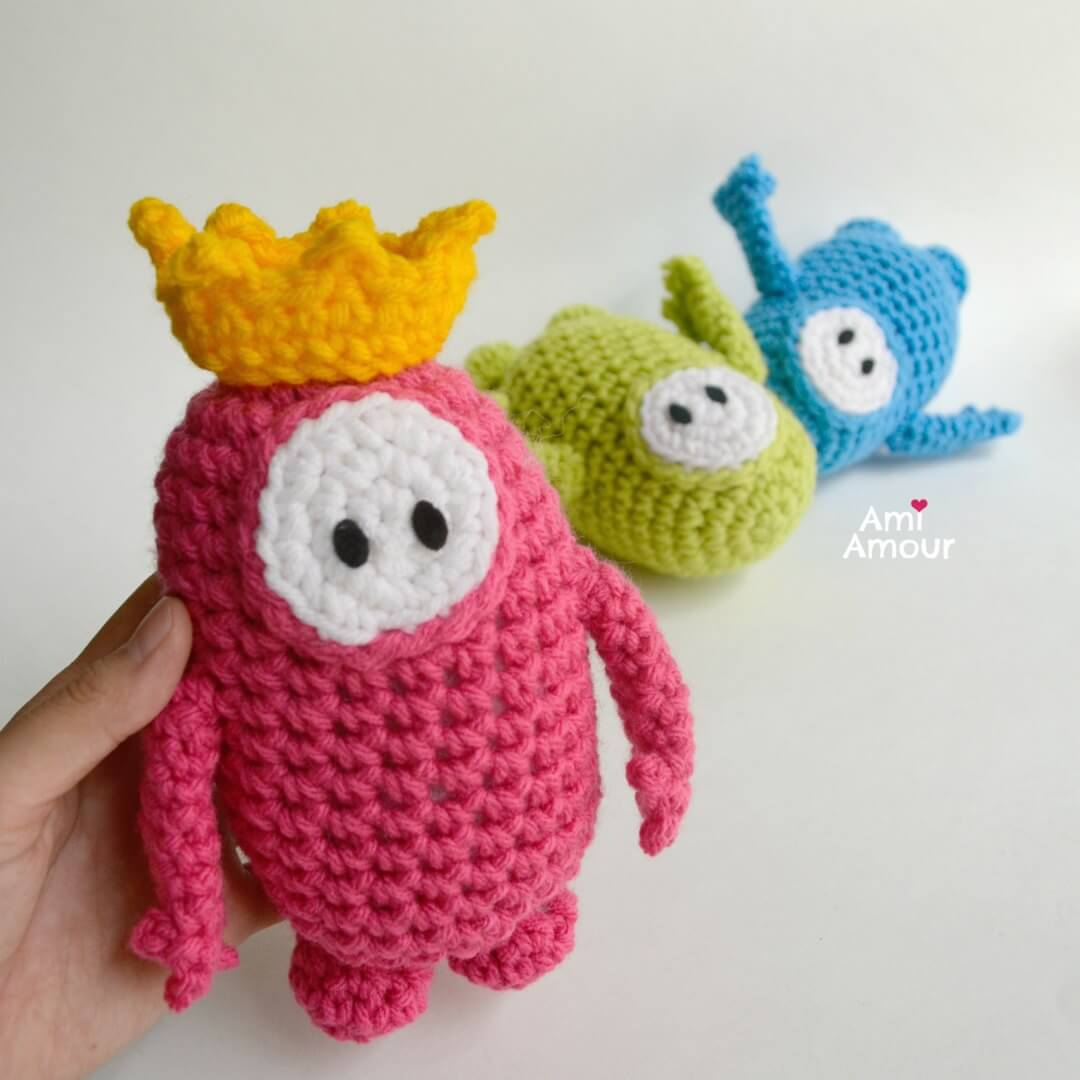 Crochet Fall Guys - Amigurumi Pattern