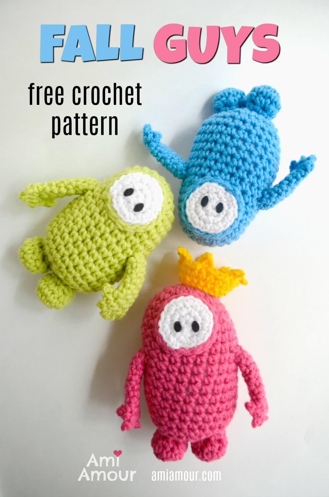 Fall Guys - Free Amigurumi Pattern
