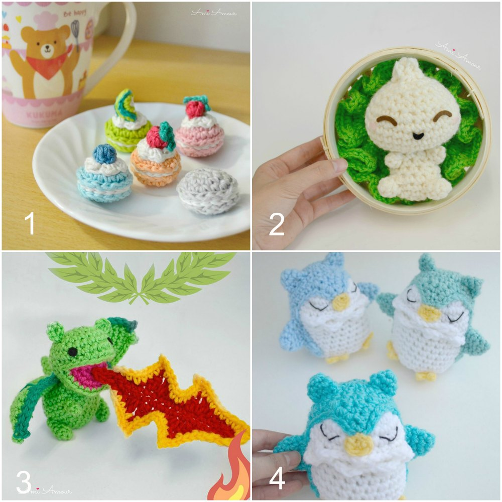 Ami Amour Free Crochet Patterns