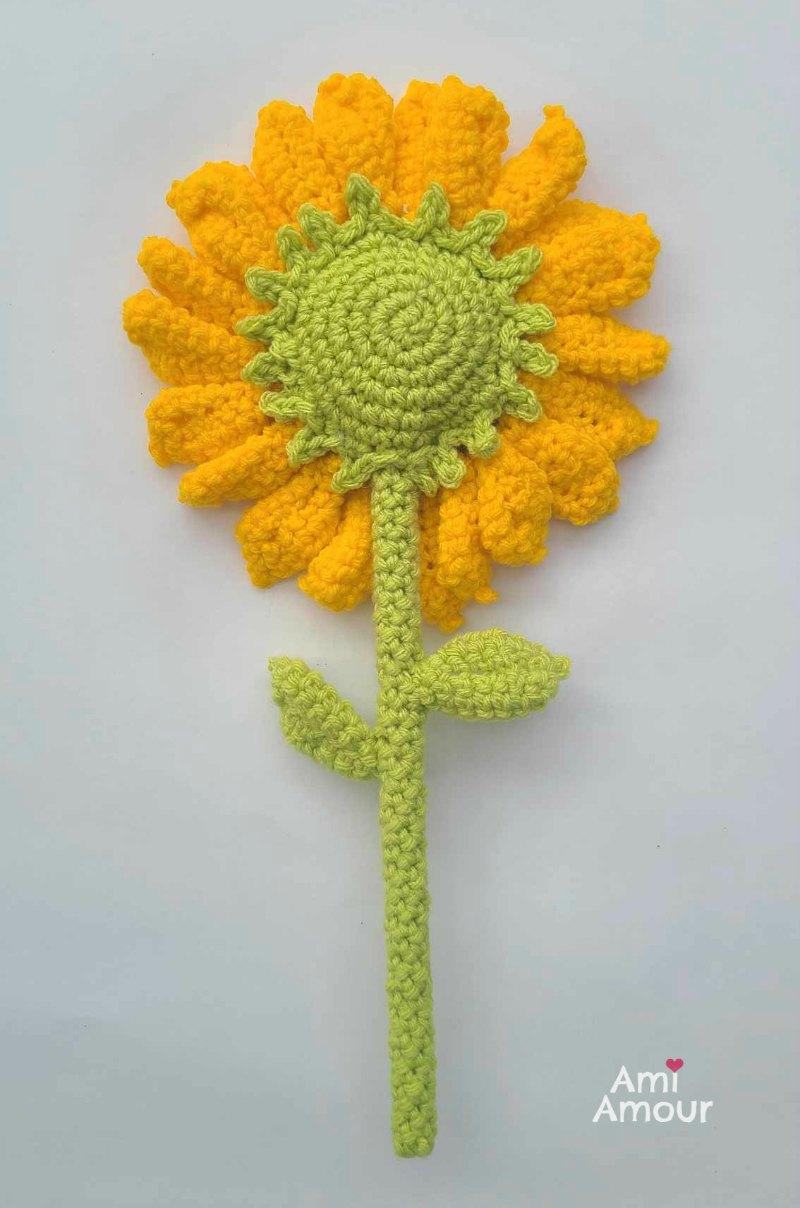 Amigurumi Sunflower Back