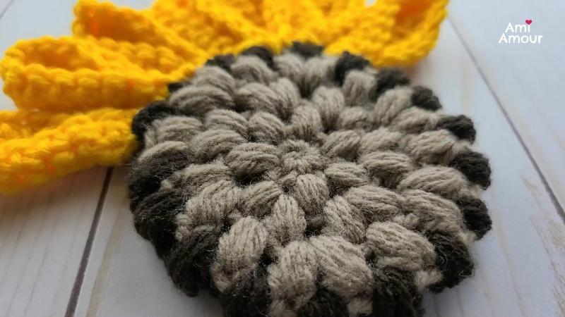 Sunflower Puff Stitch