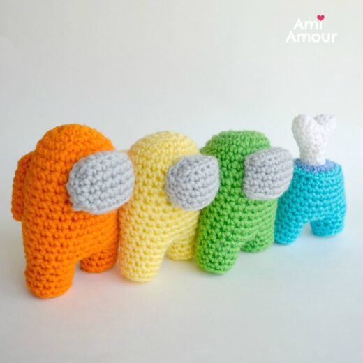 Among Us Amigurumi Pattern - Crochet