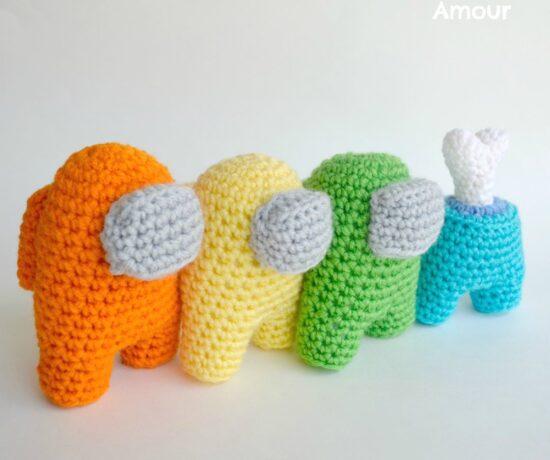 Among Us Amigurumi Pattern - Crochet