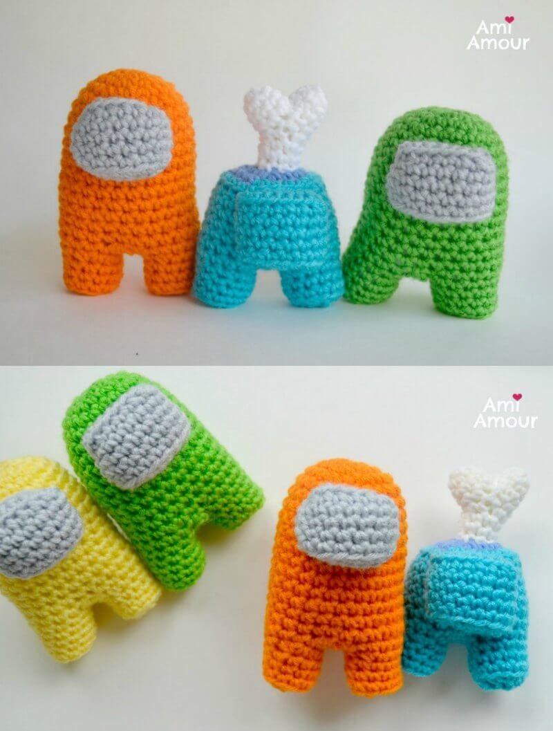 Crochet Among Us Dolls