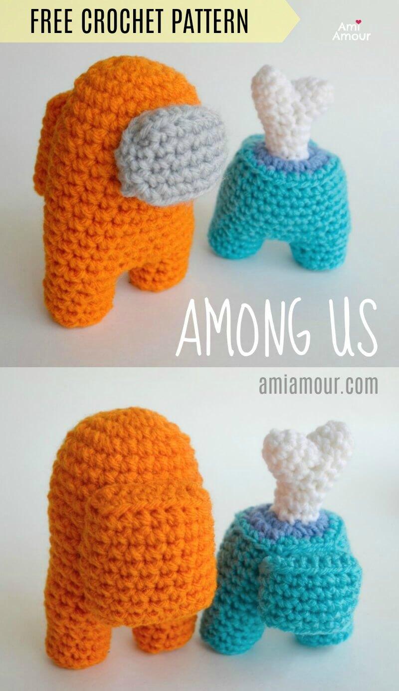 Among Us Amigurumi - Free Crochet Pattern