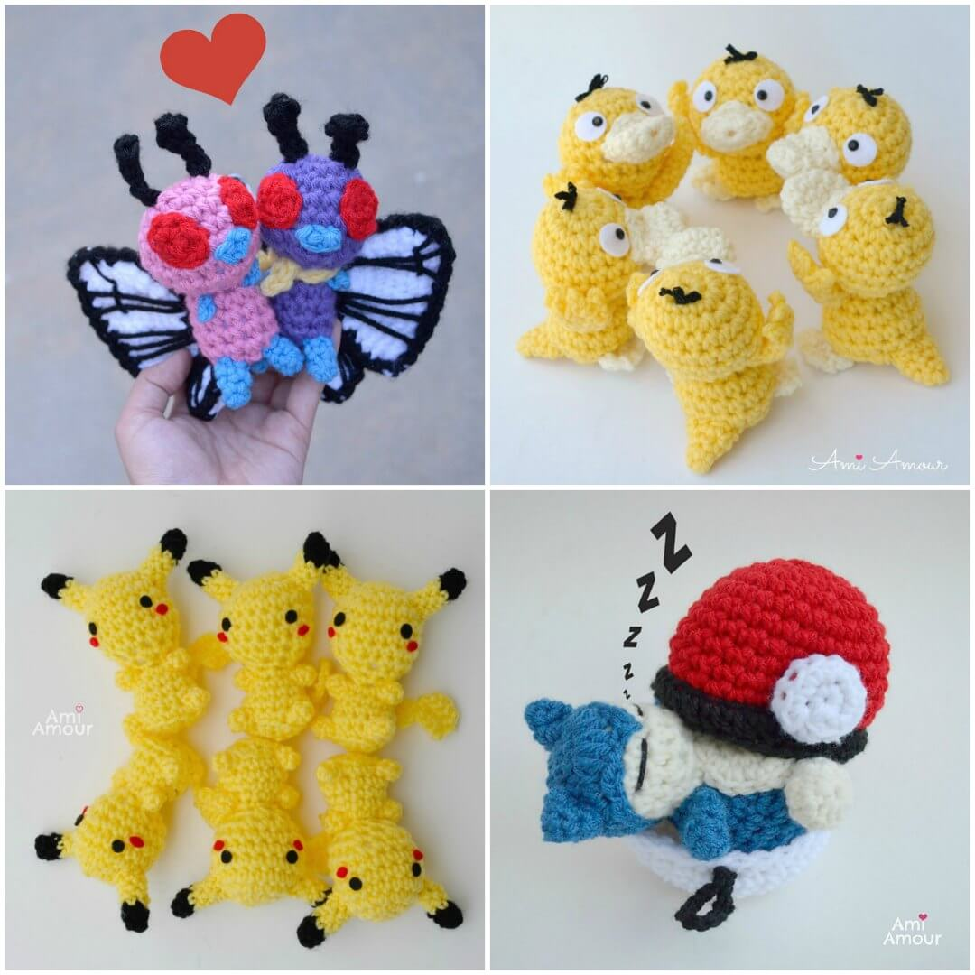 Pokemon Crochet Patterns