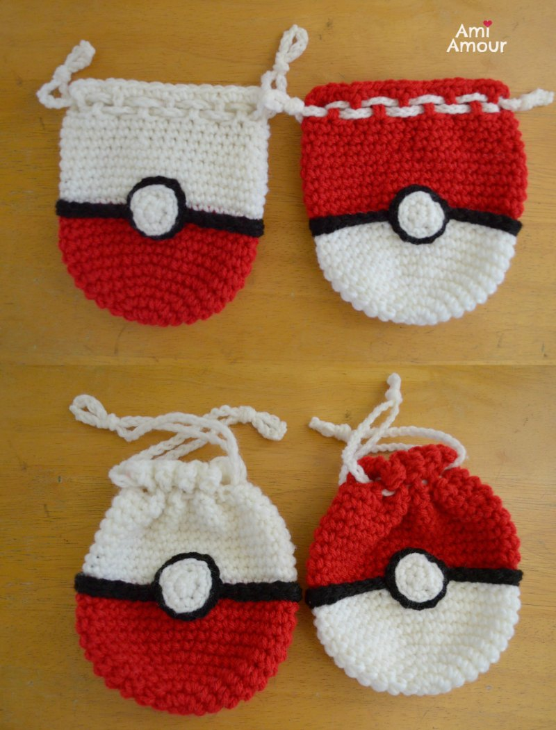 Pokeball - Free Crochet Pattern