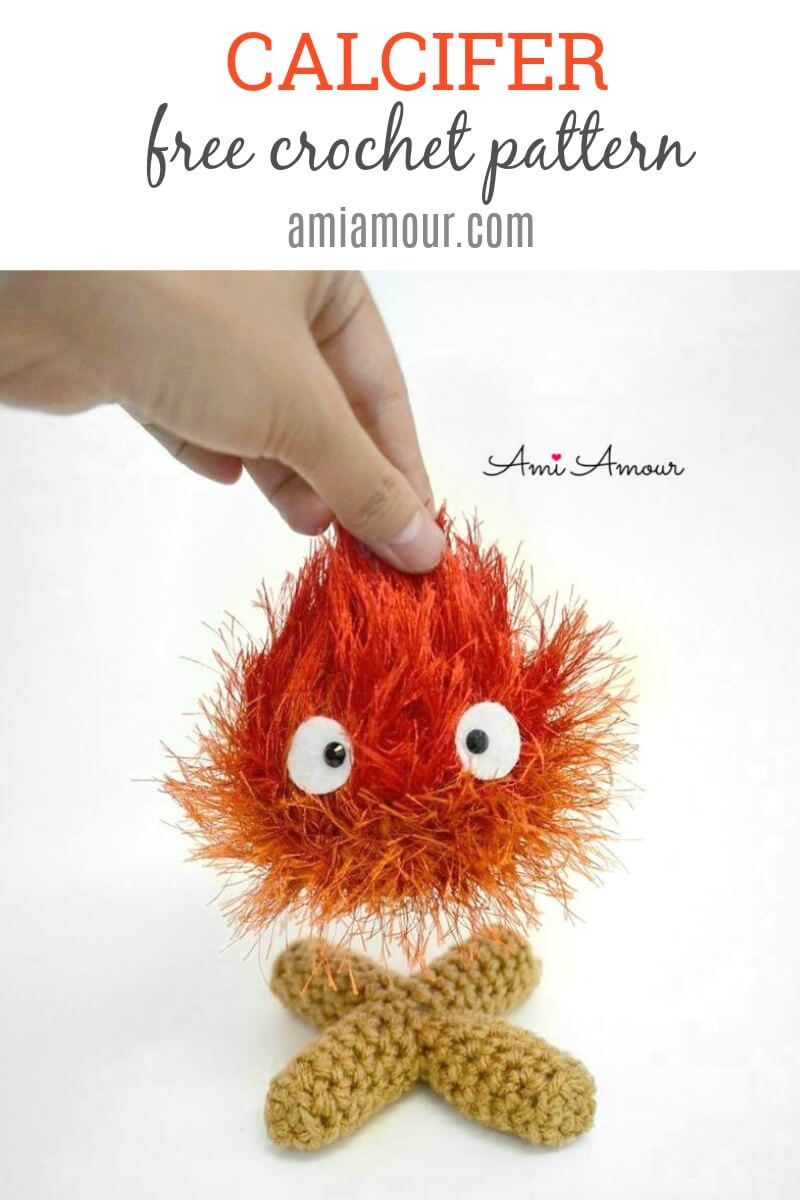 Calcifer Fire Crochet Pattern - Free