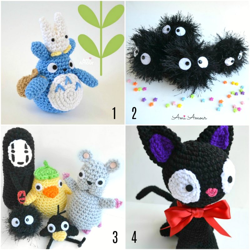 Studio Ghibli Crochet Patterns