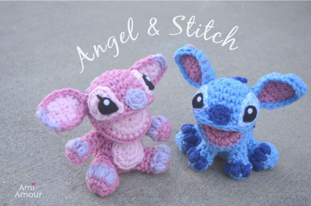 Angel and Stitch Amigurumi