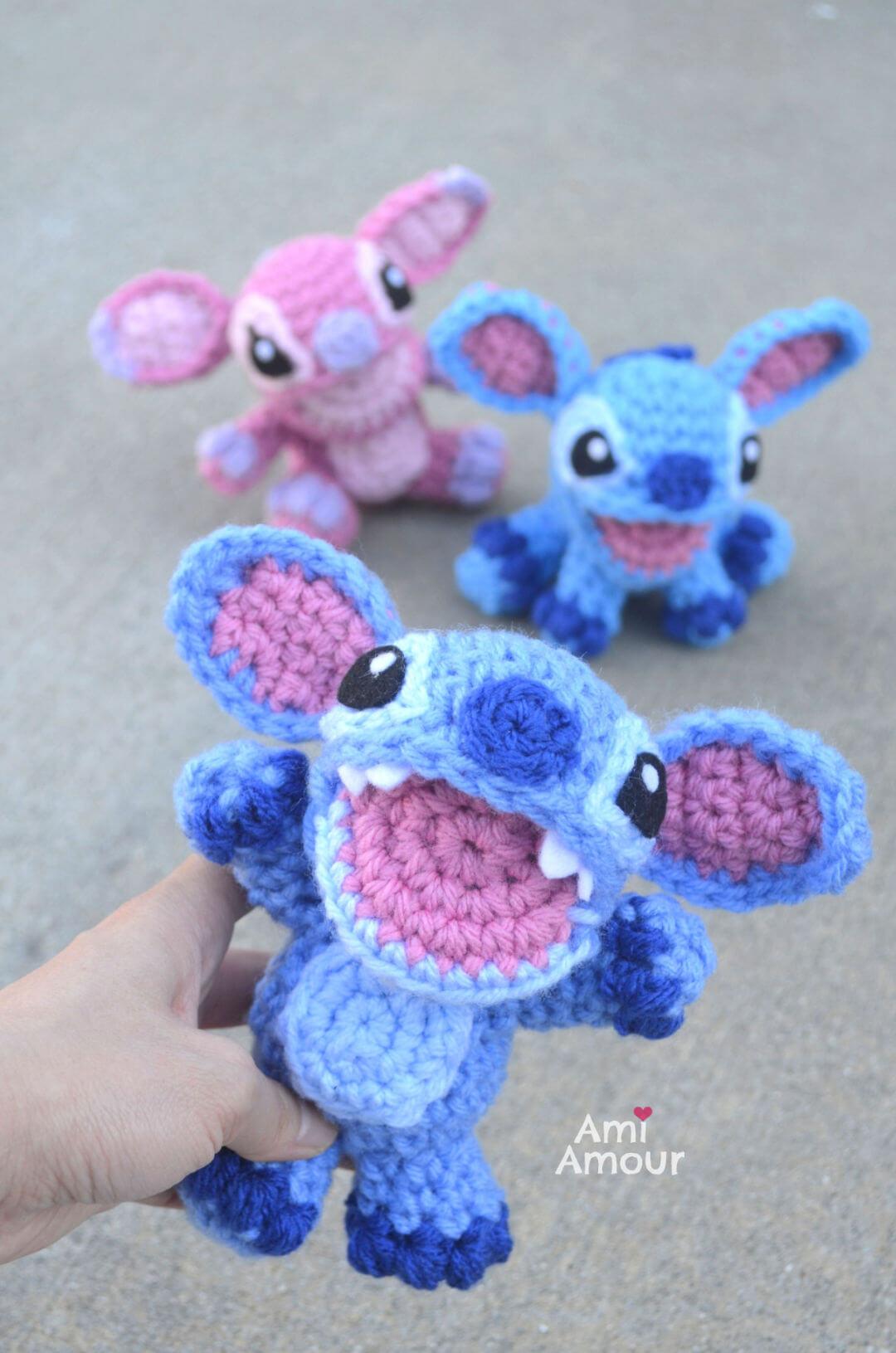 Lilo and Stitch Crochet Pattern