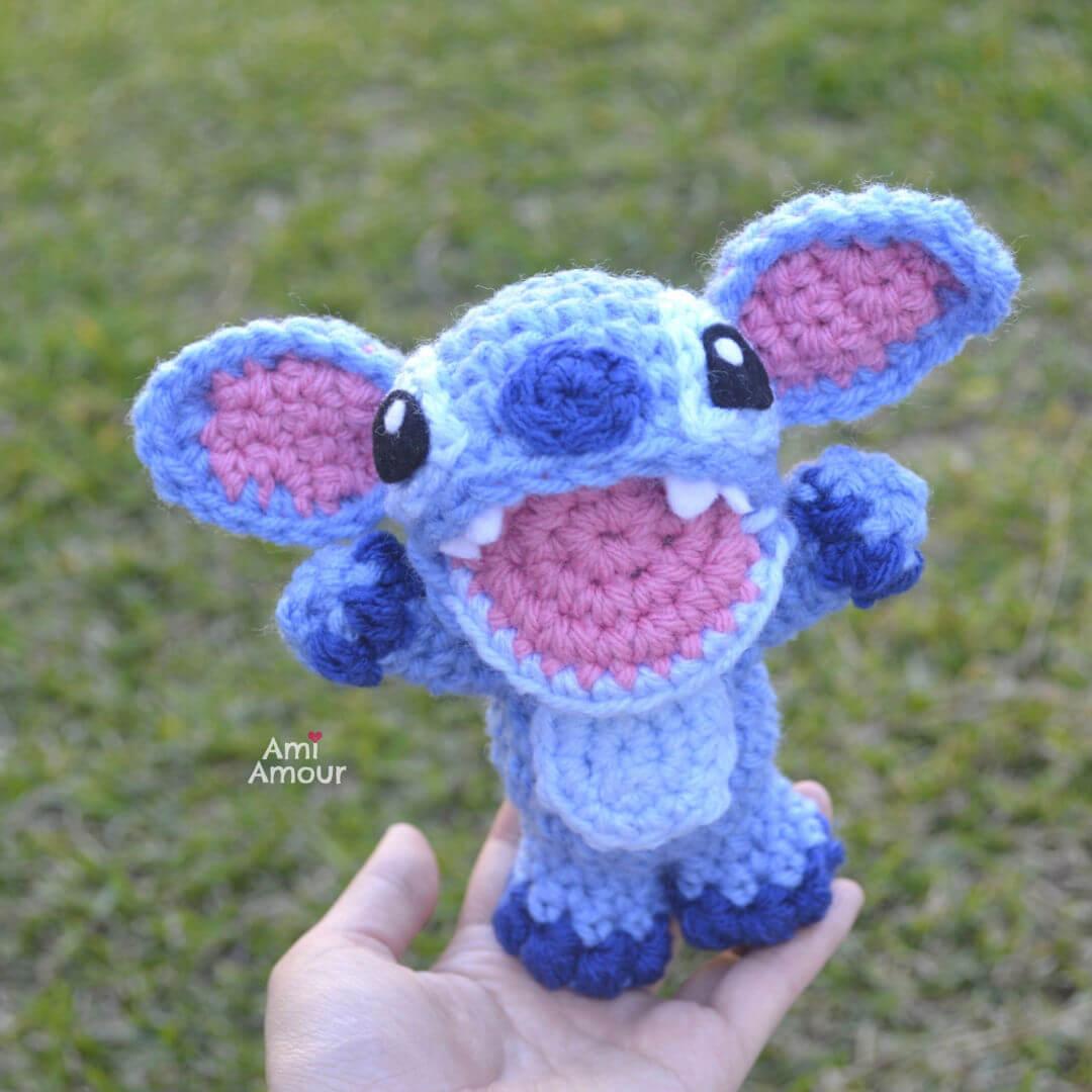 Stitch Amigurumi - Crochet Pattern