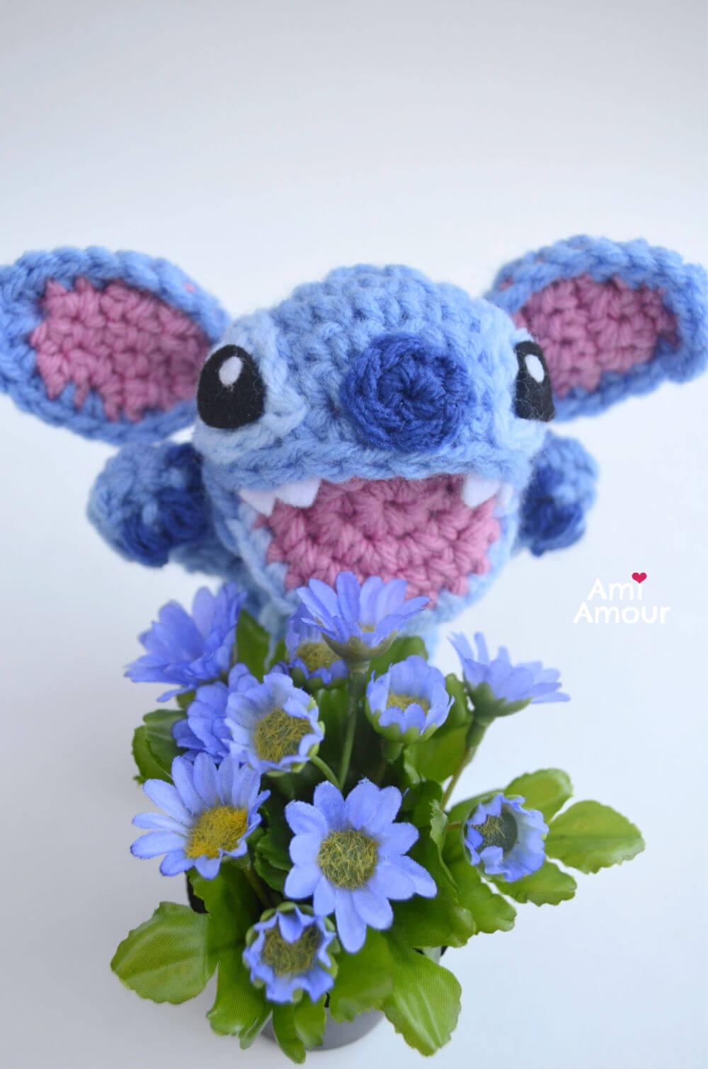 Stitch Amigurumi - Free Crochet Pattern