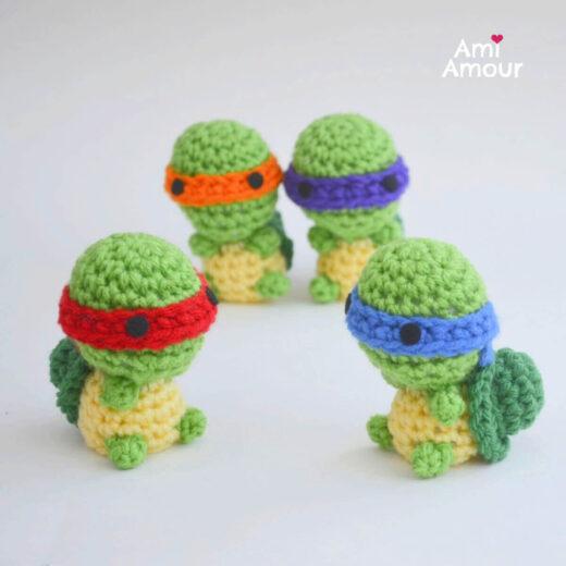 Ninja Turtle Amigurumi