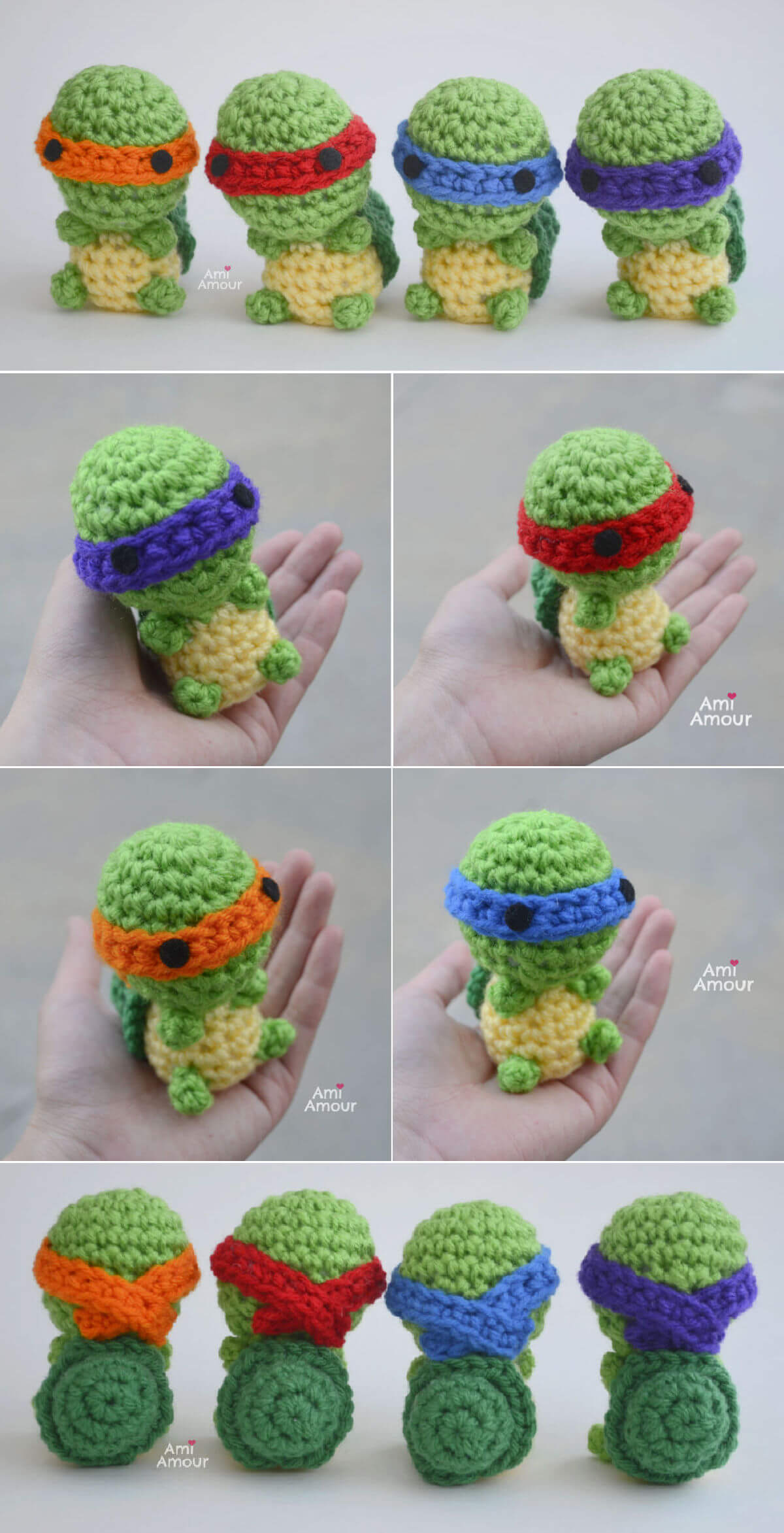Ninja Turtle - Free Crochet Pattern