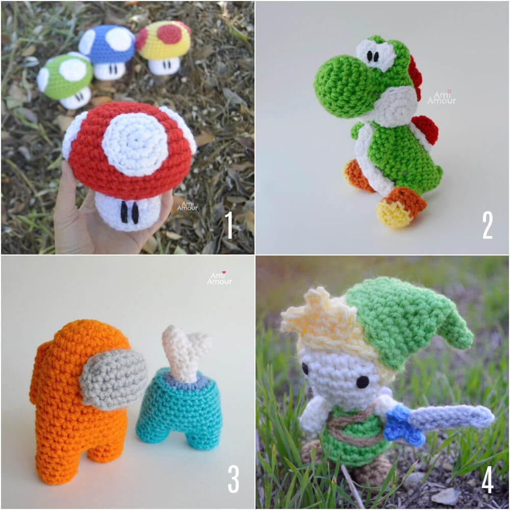 Free Crochet Patterns for Videogames
