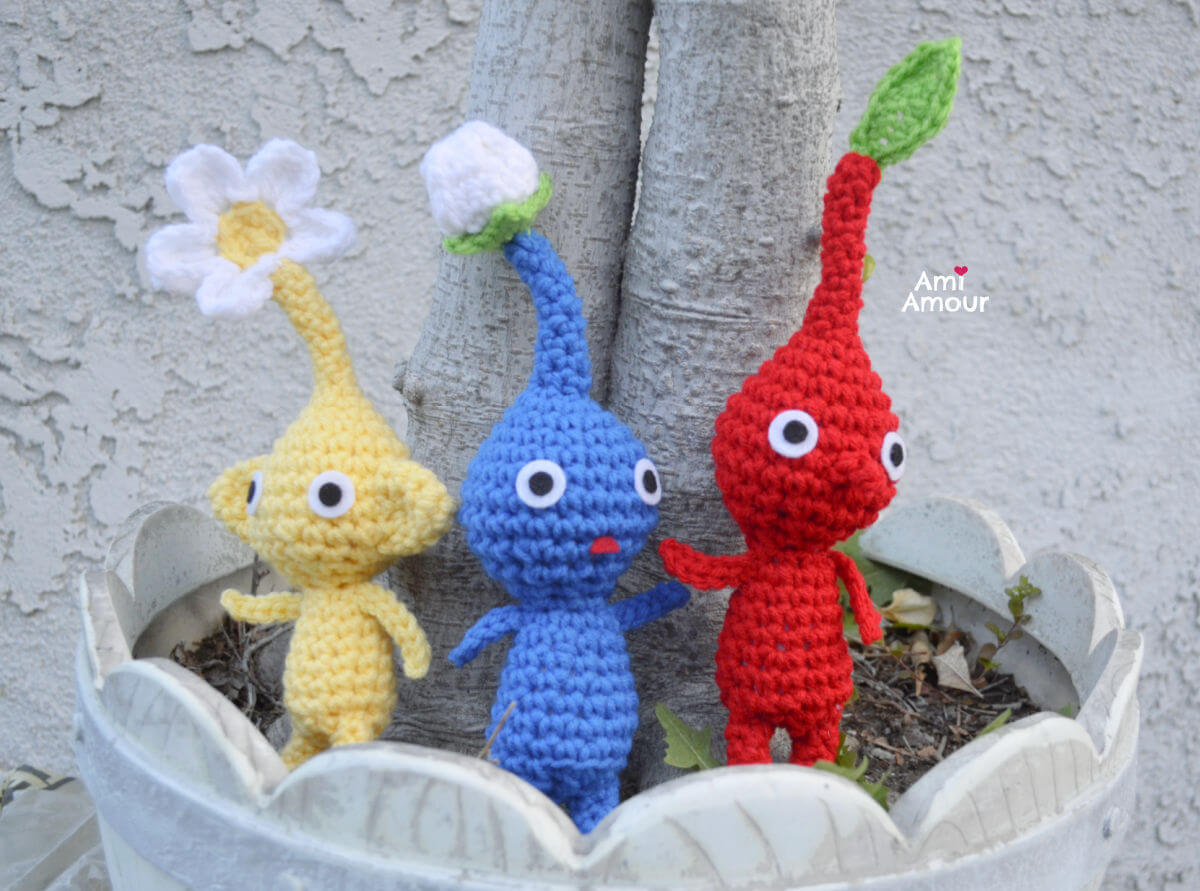 Pikmin Crochet Pattern