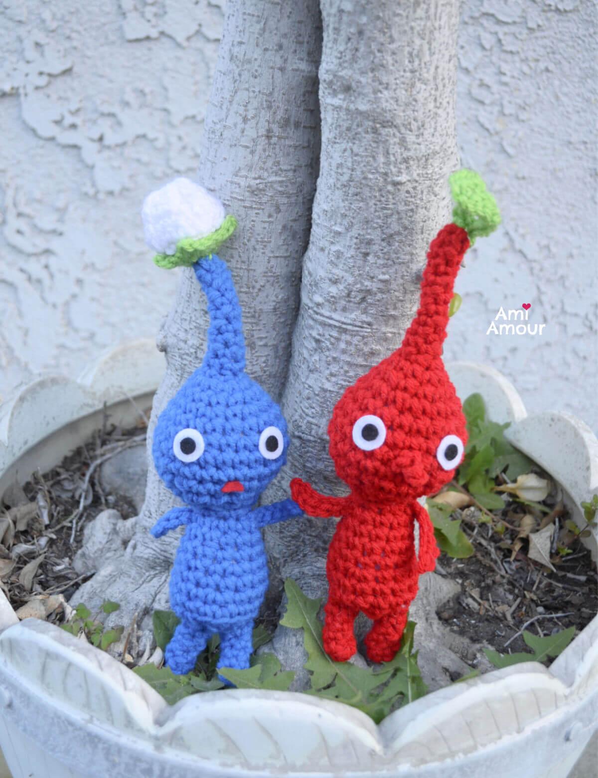 Pikmin Crochet Variations