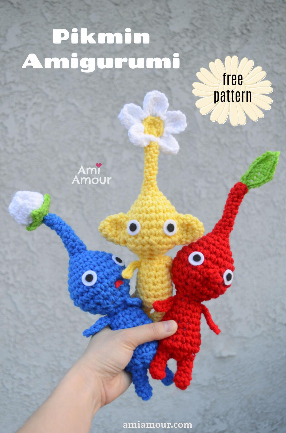 Pikmin Amigurumi - Free Crochet Pattern