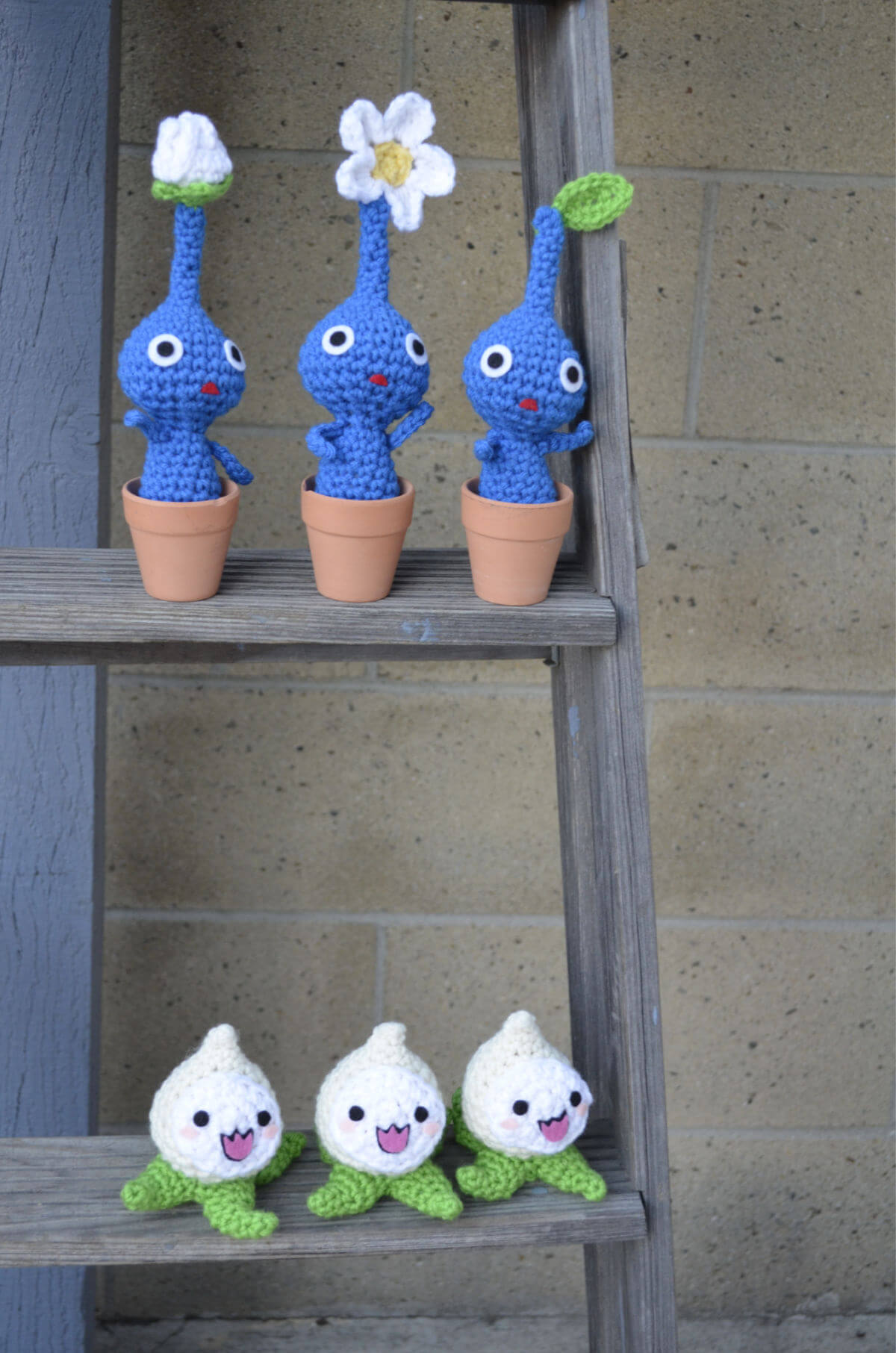Pikmin Amigurumi with Crochet Pachimari
