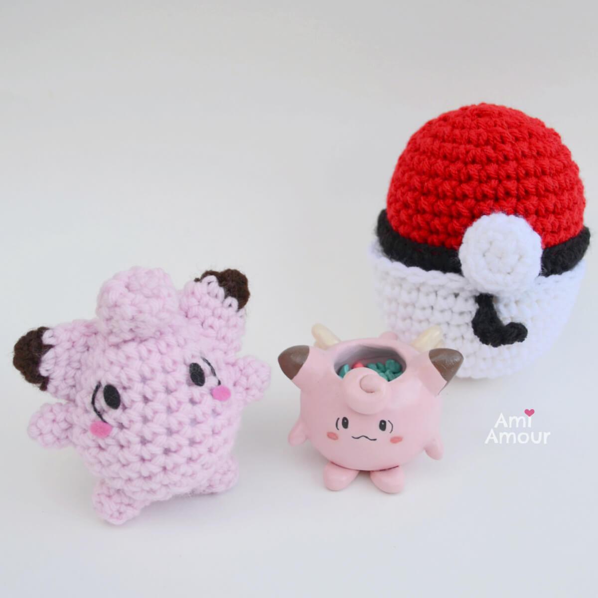 Clefairy Crochet Pattern