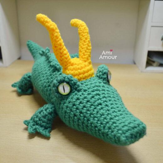 Alligator Loki Amigurumi - Free Crochet Pattern