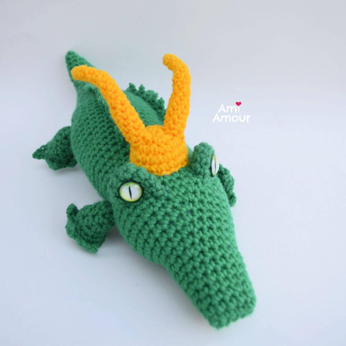 Crochet Alligator Loki