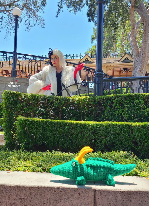 Cruella with Crochet Alligator Loki