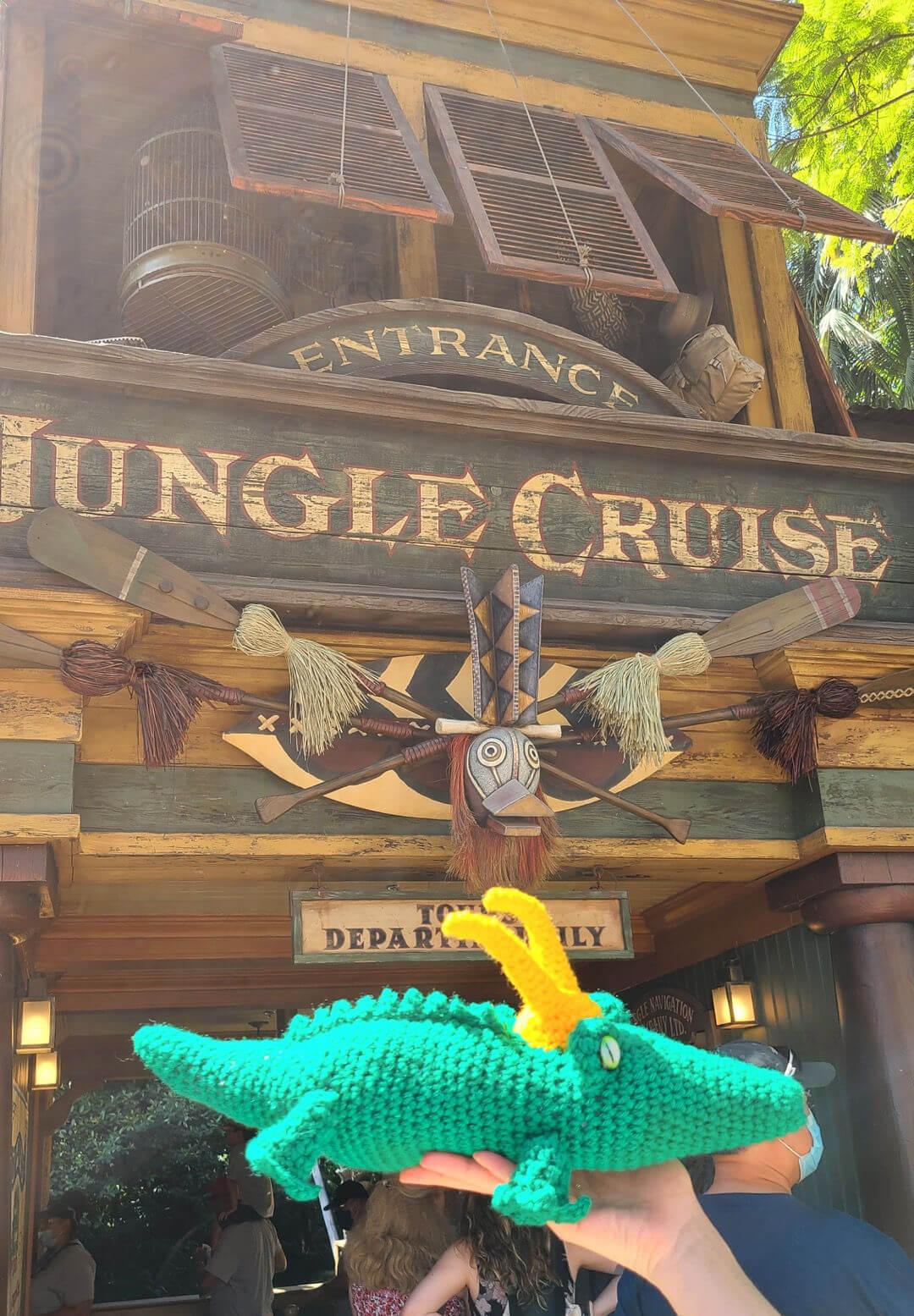 Alligator Loki - Jungle Cruise