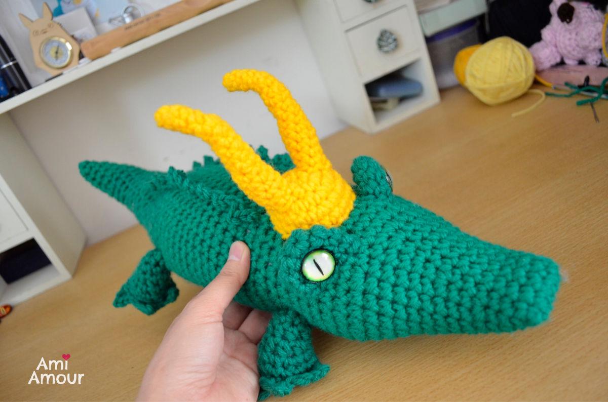 Loki Alligator Crochet Variant