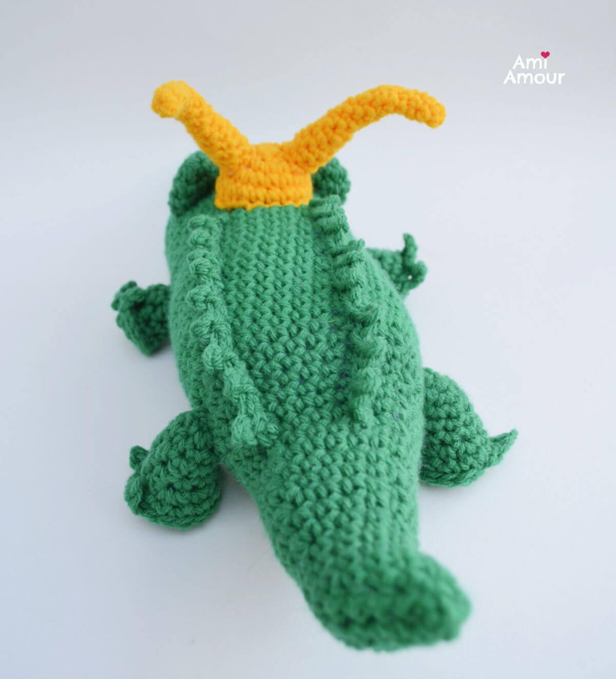Back of Alligator Loki