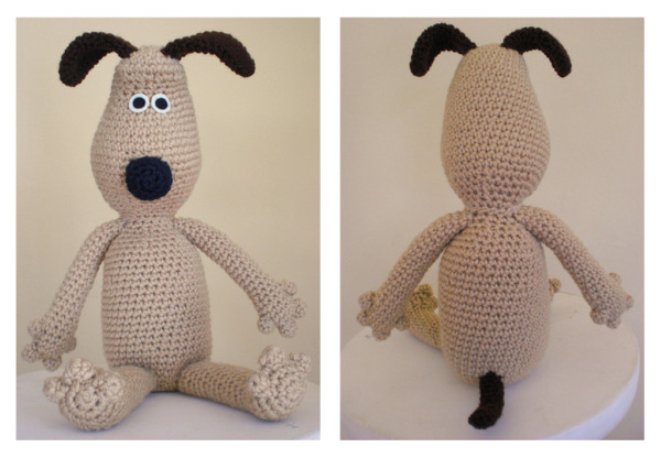 Wallace And Gromit Knitting Pattern : Gromit Amigurumi Pattern